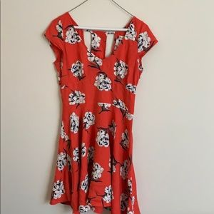Abercrombie | Flared Floral Dress | ASO Teenwolf